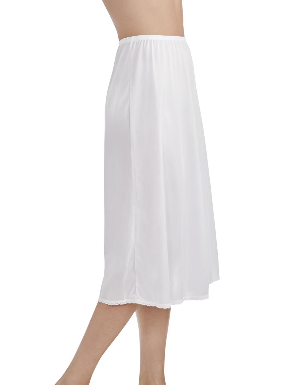 "Vanity Fair Daywear Solutions 100/% Nylon Black Half Slip Size Medium Length 18/"""