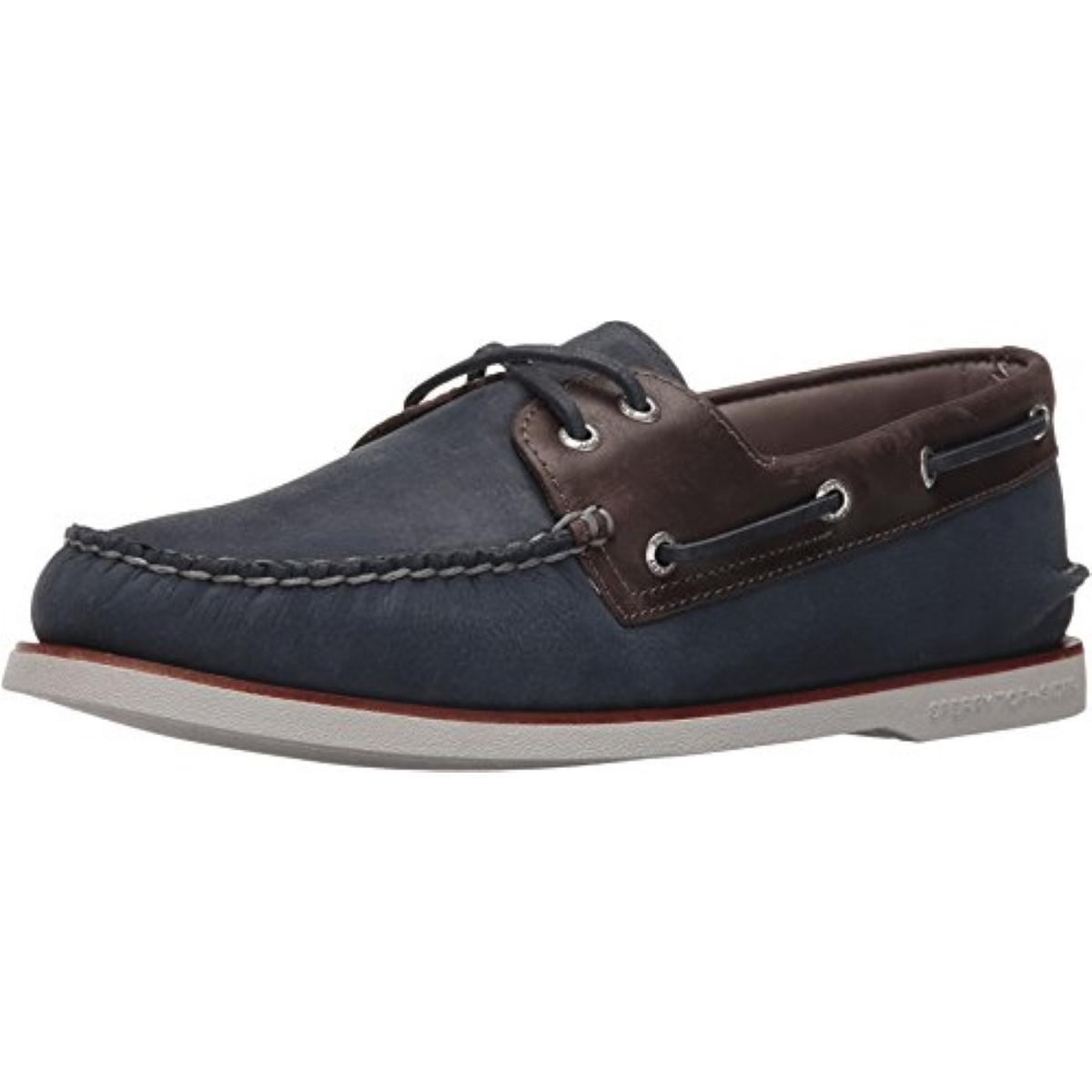 Sperry Top-Sider Gold A/O Camino Mens Navy/Grey Boat Shoes