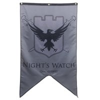 """Game of Thrones Night's Watch 30"""" x 50"""" Fabric Banner"""