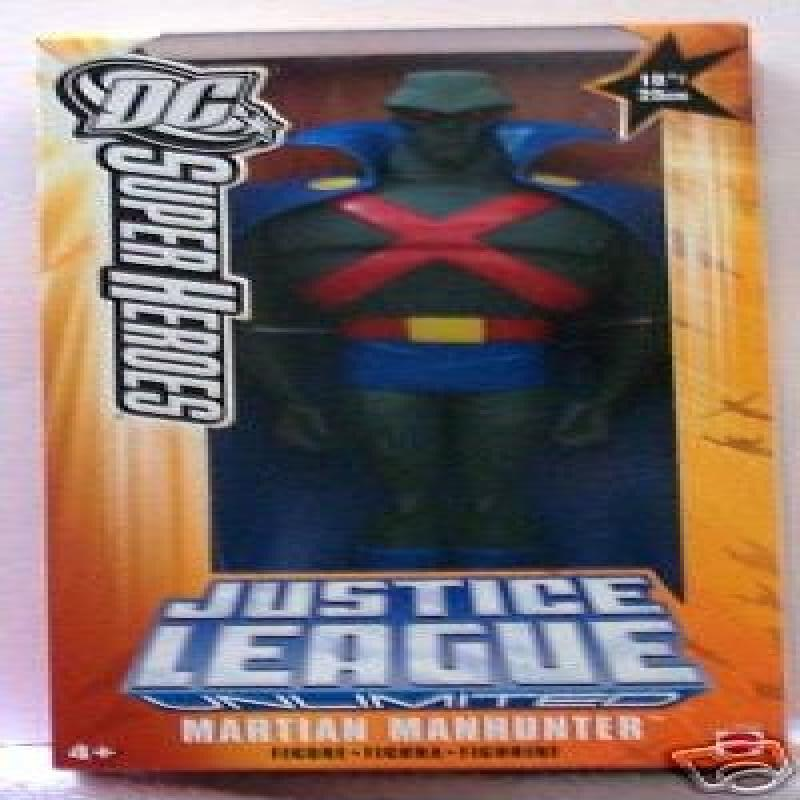 Mattel Dc Heroes Roto Figure Martian Manhunter by