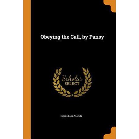 Obeying the Call, by Pansy Paperback
