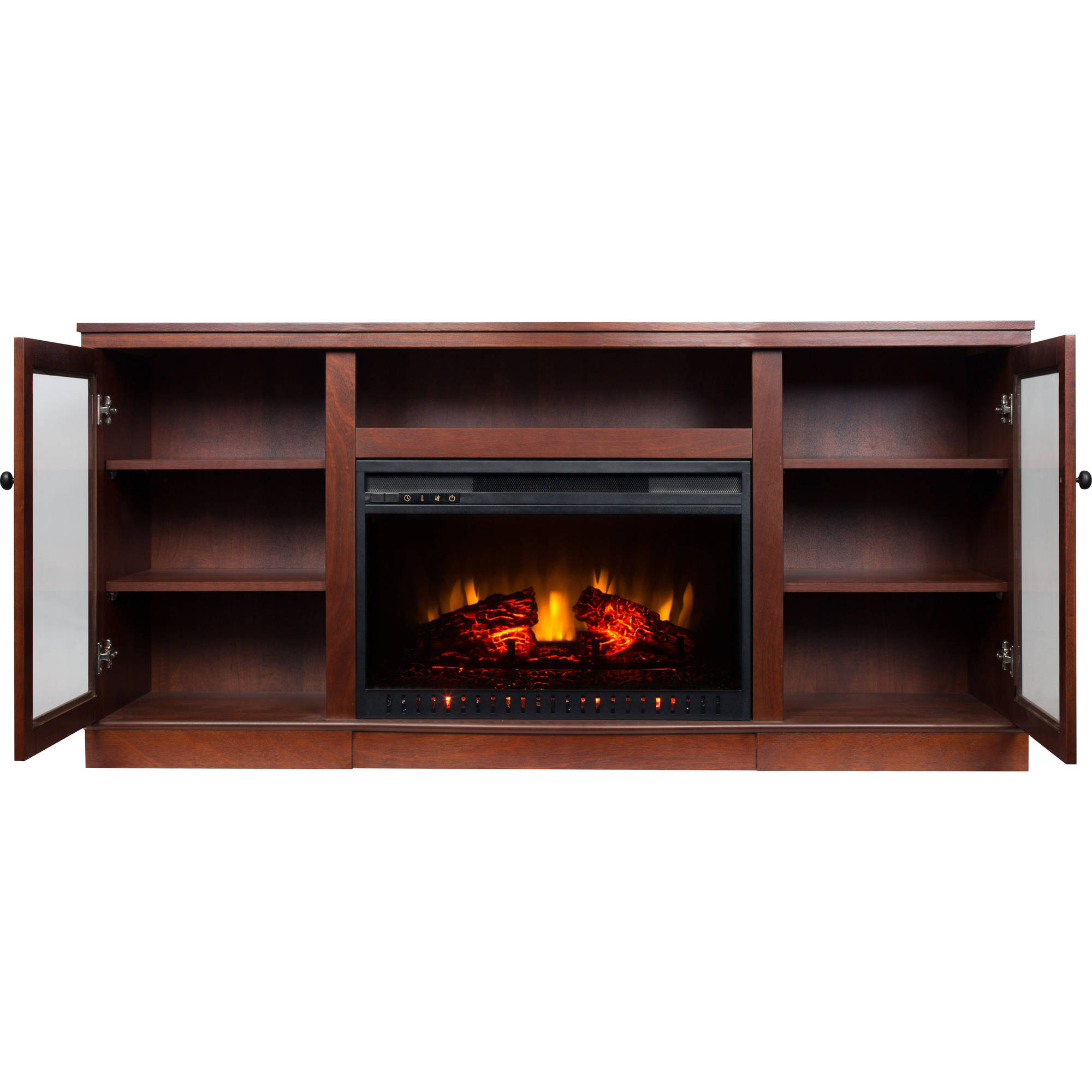 electric fireplace with 63