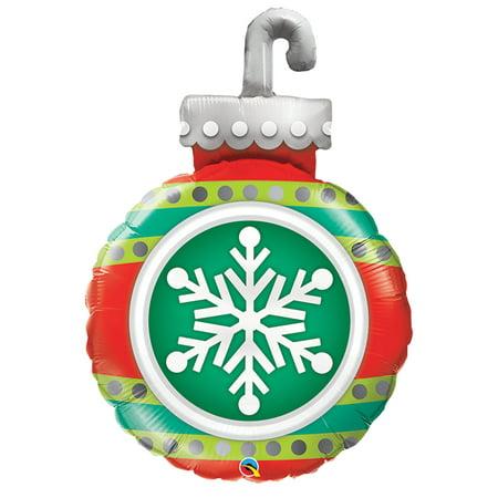 Qualatex Christmas Snowflake Ornament Giant 35