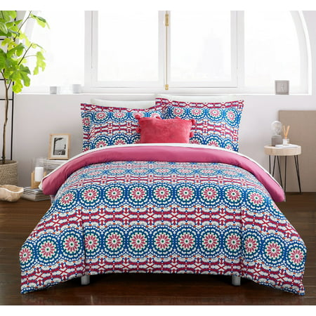 Chic Home Chiko 6 Piece Reversible Bed in a Bag Duvet Cover