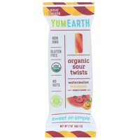 Yumearth Organics Sour Twst, Organic, Watermln, Limend, 2 Oz, Pack Of 12