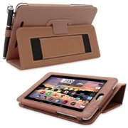 Snugg B00CL8I2O0 Nexus 7 Case Cover and Flip Stand, Distressed Brown Leather