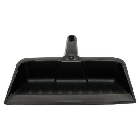 Rubbermaid(R) Heavy-Duty Dustpan, Charcoal