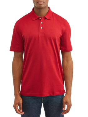 George Men's Short Sleeve Solid Polo Shirt