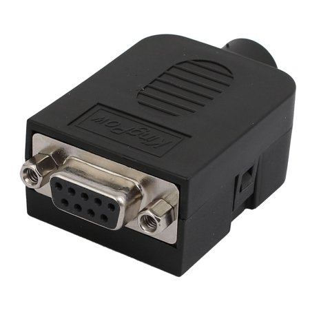 DB9-M-8A Stable DB9 9Pin Female Connector 10Pin Adapter Terminal Module w Case - image 3 de 3