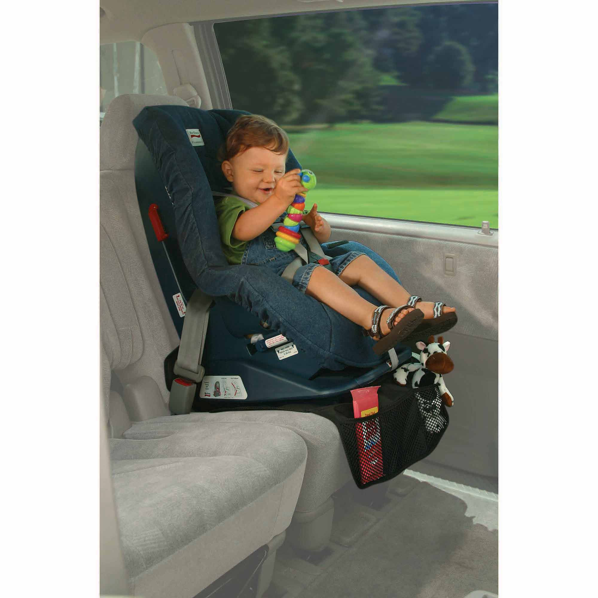 Compact seatSAVER and Baby View Mirror by Prince Lionheart