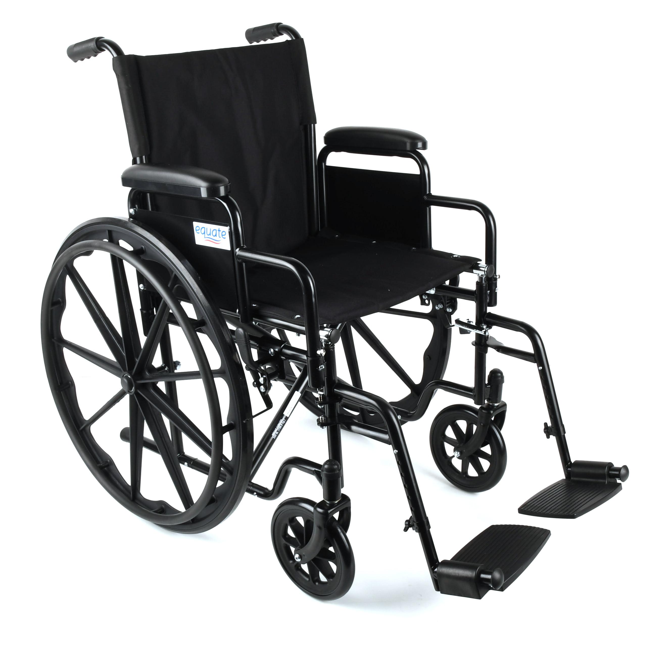 Equate Transport Wheelchair, Black