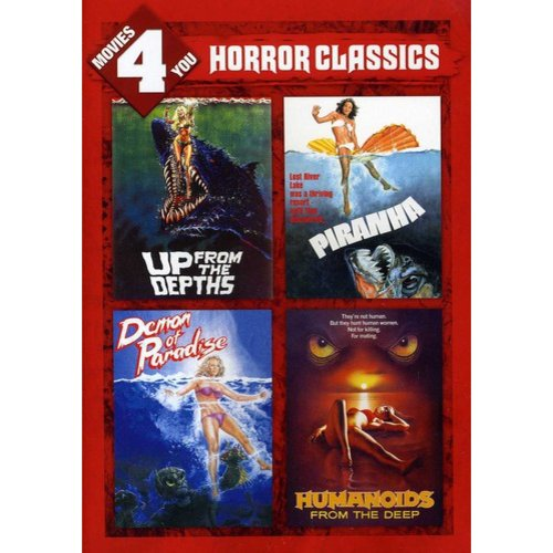 Roger Corman Horror Classics 4 Pack: Up From The Depths / Piranha / Demon Of Paradise / Humanoids (Widescreen)
