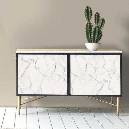 Roommates Carrara Marble Peel Stick Wallpaper Walmartcom