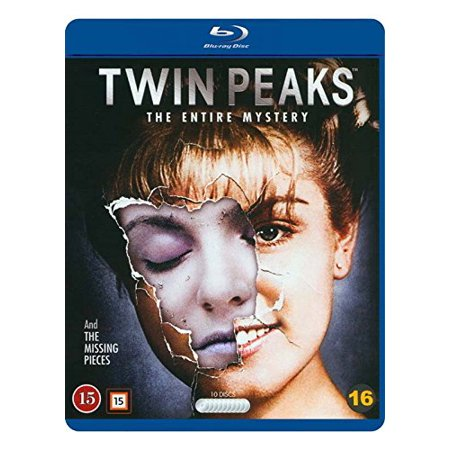 Twin Peaks - The Entire Mystery - 10-Disc Box Set ( Twin Peaks - Complete Series / Twin Peaks: Fire Walk with Me ) [ Blu-Ray, Reg.A/B/C Import - Denmark