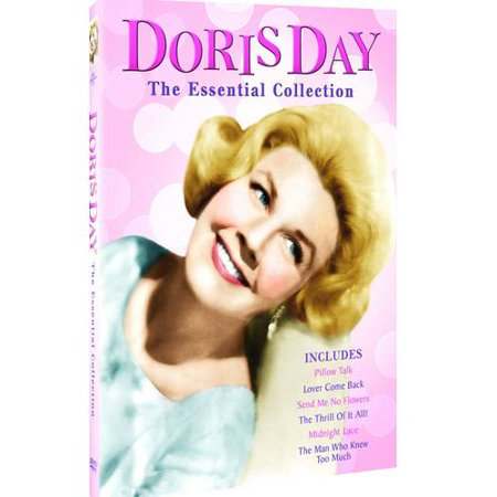 Doris Day  The Essential Collection   Pillow Talk   Lover Come Back  Send Me No Flowers   The Thrill Of It All    Midnight Lace   The Man Who Knew Too Much  Widescreen
