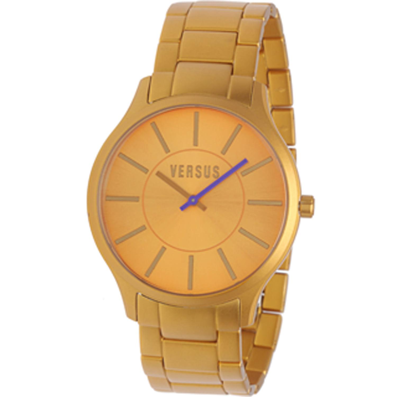Versace Women's Less Wristwatch 3C66300000 Aluminum Gold ...