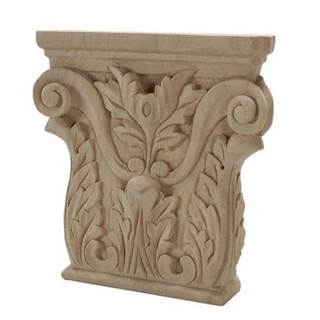 American Pro Decor 5Apd10445 Large Carved Wood Applique