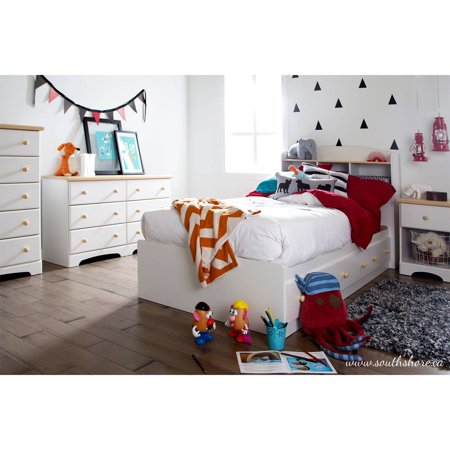 South shore summertime kids bedroom furniture collection for South shore bedroom set walmart