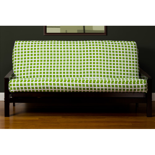 SIScovers Block Island Green 7-inch Full-size Futon Cover