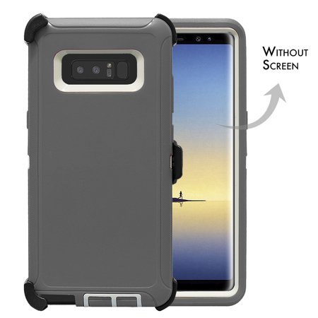 official photos 552ef 333ab Galaxy Note 8 Case, [Full body] [Heavy Duty Protection] Shock Reduction /  Bumper Case WITHOUT Screen Protector for Samsung Galaxy Note 8 2017 Release  ...