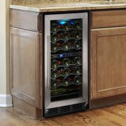 Vinotemp 32 Bottle Wine Cooler with Interior Display