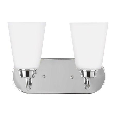 """Sea Gull Lighting 4415202EN3 Kerrville 2 Light 12"""" Wide LED Bathroom Vanity Light"""