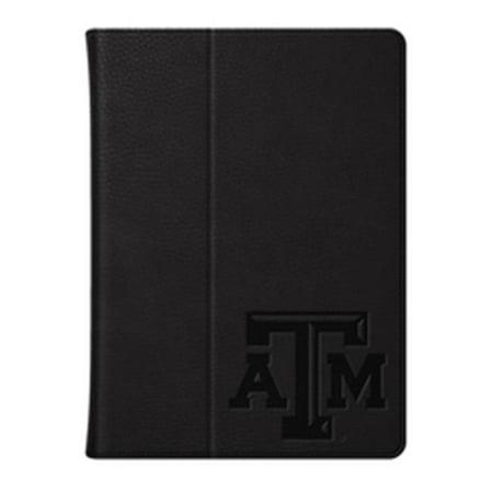 check out 27aa5 f9067 Centon Electronics 42026 Texas A&M University Custom Logo Embossed Leather  iPad Air Folio Case, Black