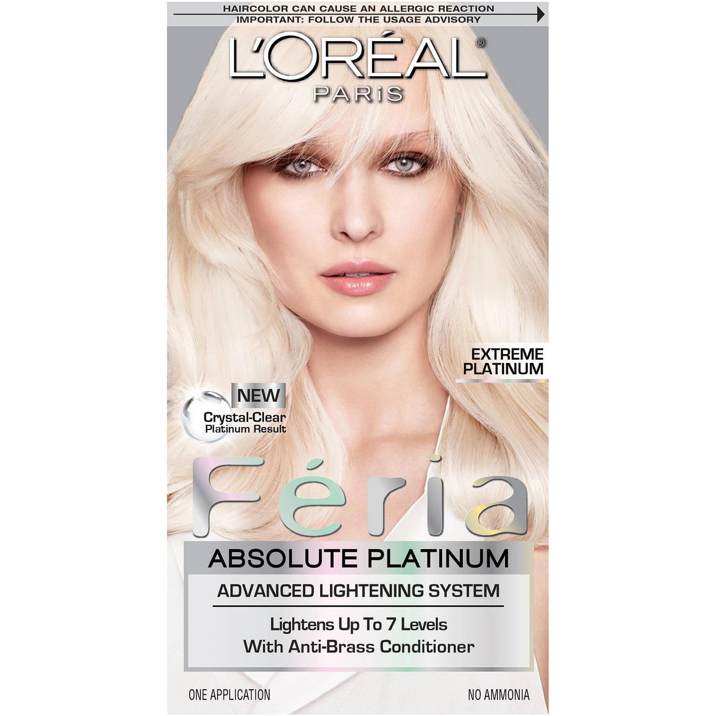 L'Oreal Paris Feria Absolute Platinum Advanced Lightening Haircolor
