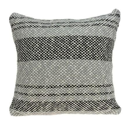 Parkland Collection PILB11035C Bella Grey & Tan Square Transitional Pillow Cover - 20 x 20 x 0.5 in. - image 1 de 1