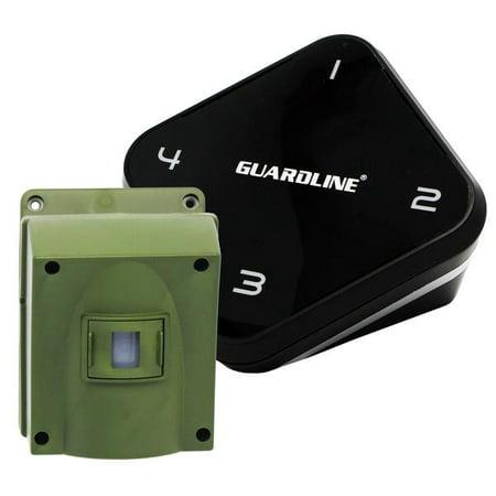 Wireless Probe Driveway (1/4 Mile Long Range Wireless Driveway Alarm. Professional Outdoor Motion Sensor & Detector Alert)