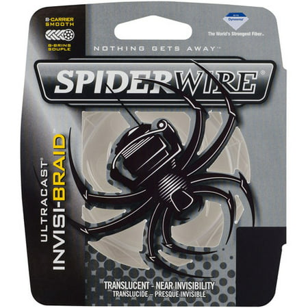 - SpiderWire Ultracast Invisi-Braid Fishing Line