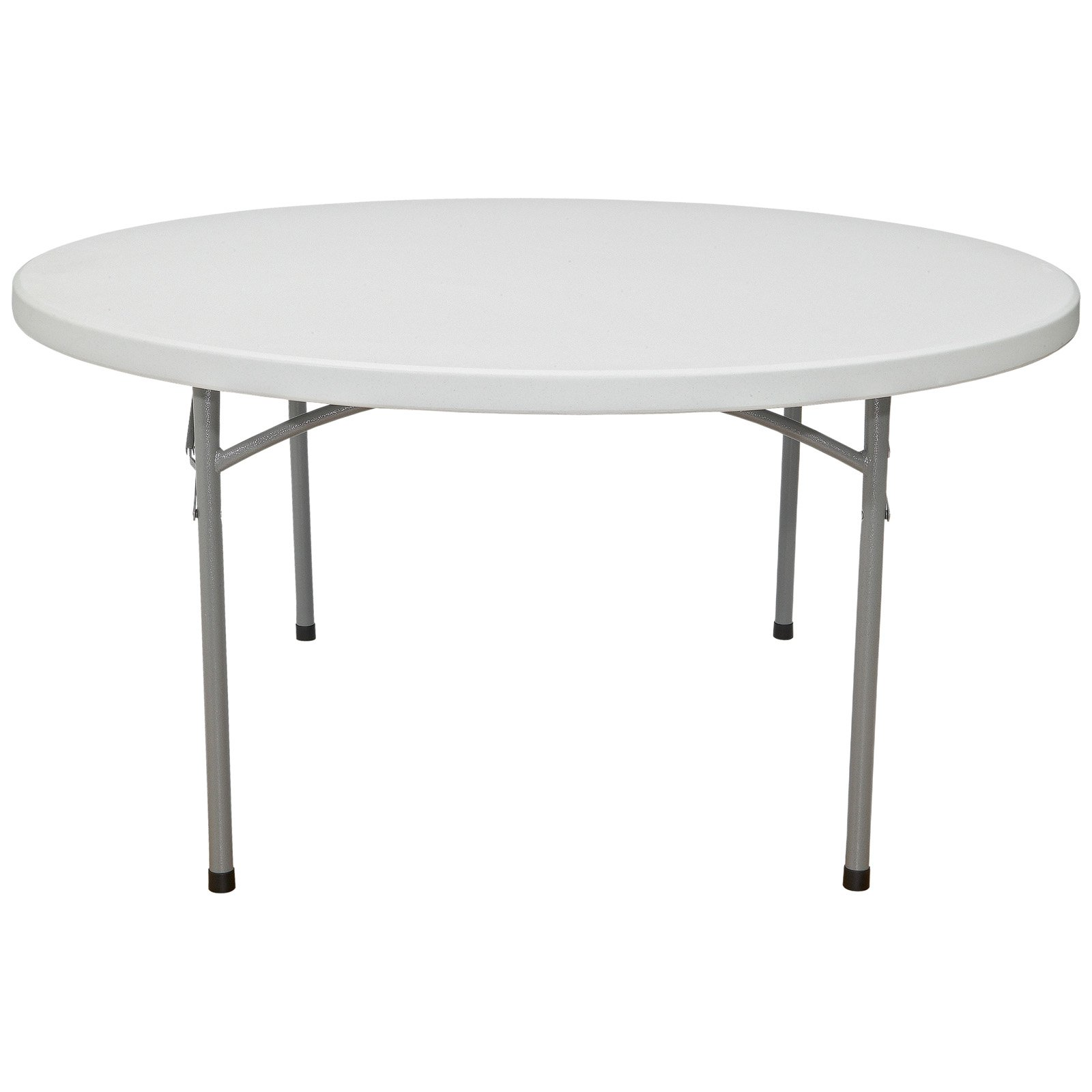 National Public Seating BT Series Round Blow Molded Folding Table by National Public Seating