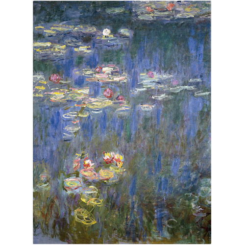 "Trademark Fine Art ""Water Lilies IV"" 1840-1926 Canvas Art by Claude Monet"