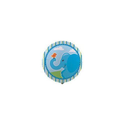 Ddi Blue Elephants Foil Balloon
