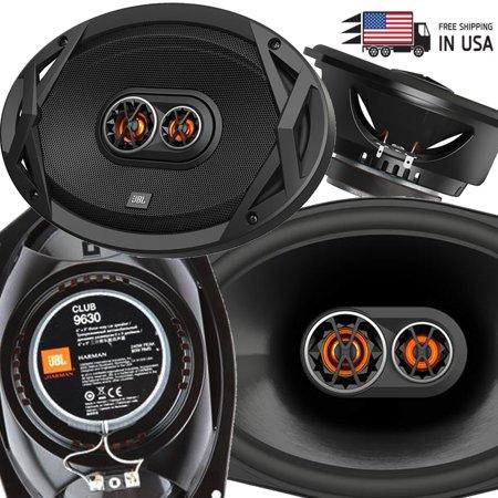 """2 Pairs JBL CLUB 9630 480 Watts 6""""x9"""" Club Series 3-Way Coaxial Car Speakers"""