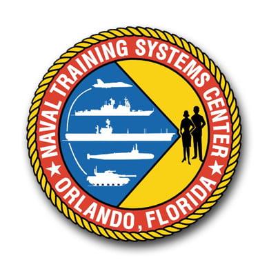 3.8 Inch Naval Training Systems Center Orlando Vinyl Transfer