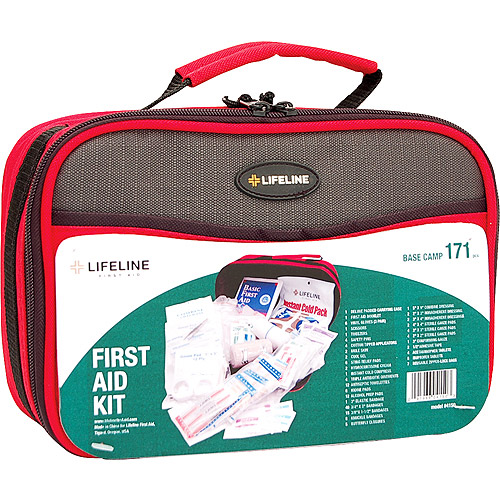 LifeLine Base Camp First Aid Kit by Lifeline