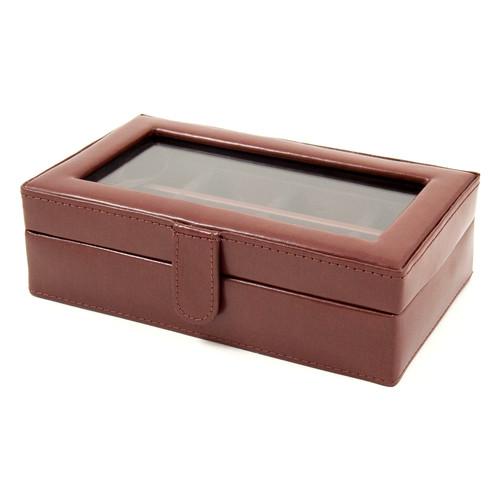 Bey-Berk 12 Pocket Cufflink Box
