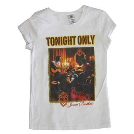 Jonas Brothers Girls White
