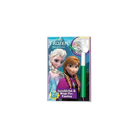 Disney Frozen Anna and Elsa Sisters Forever Invisible Ink Coloring Book (Elsa Arts And Crafts)