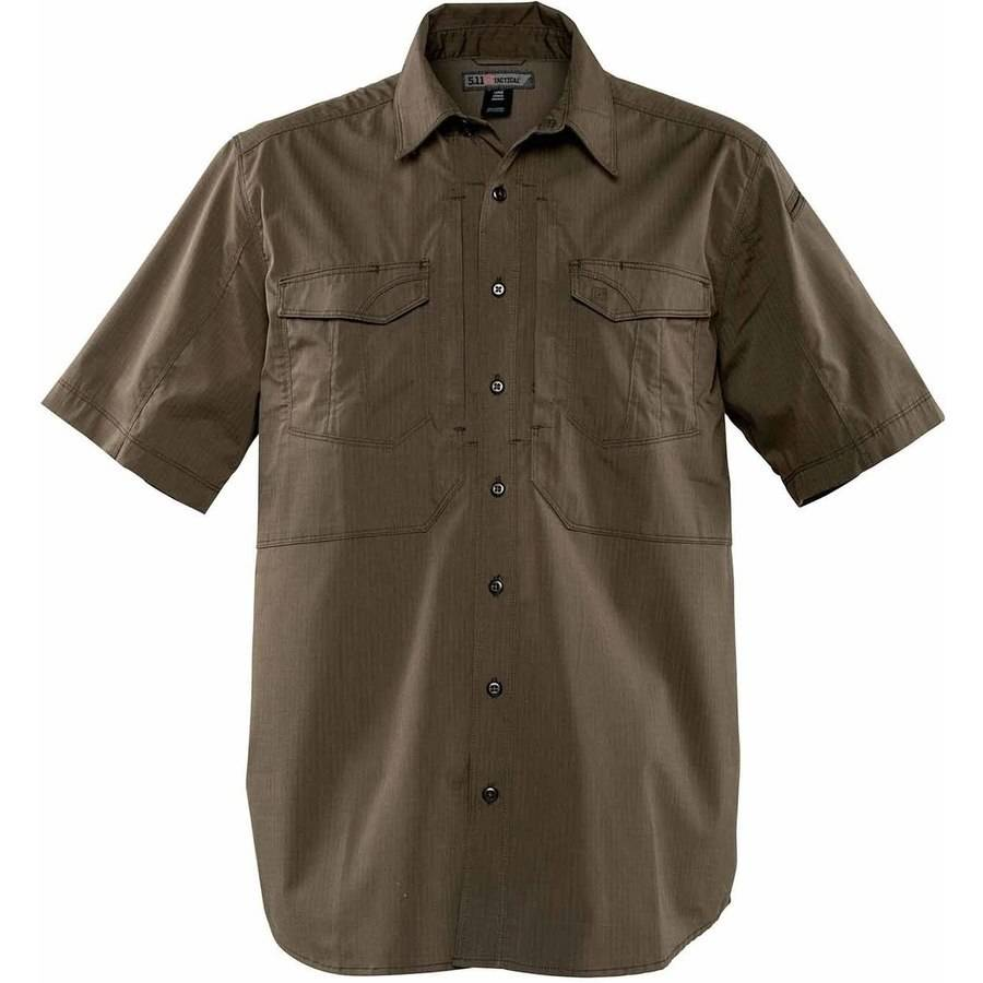 Stryke Short Sleeve Shirt, Tundra