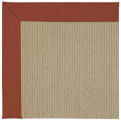 CAPEL Rugs Zoe Machine Tufted Strawberry/Brown Indoor/Out...