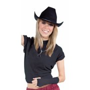 Black Cowboy Hat Halloween Costume Accessory