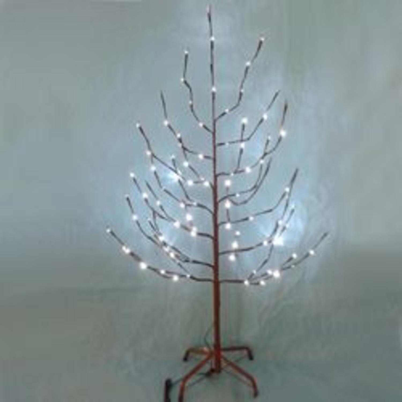 Costco Twinkling Christmas Tree: 6' Pre-Lit Brown Twinkling Outdoor Twig Christmas Tree