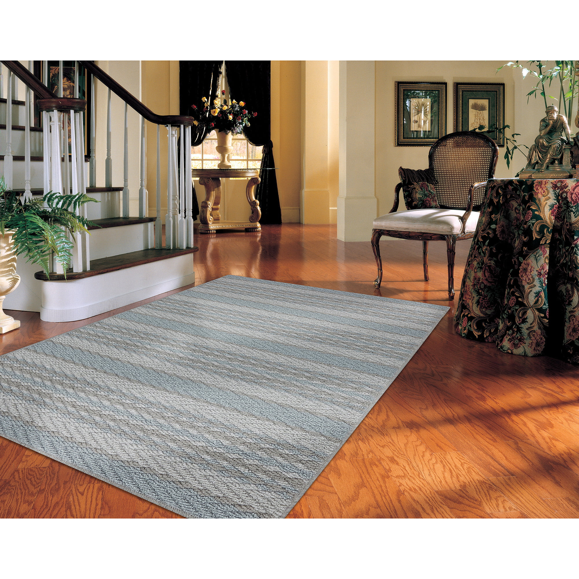 striped rugs -