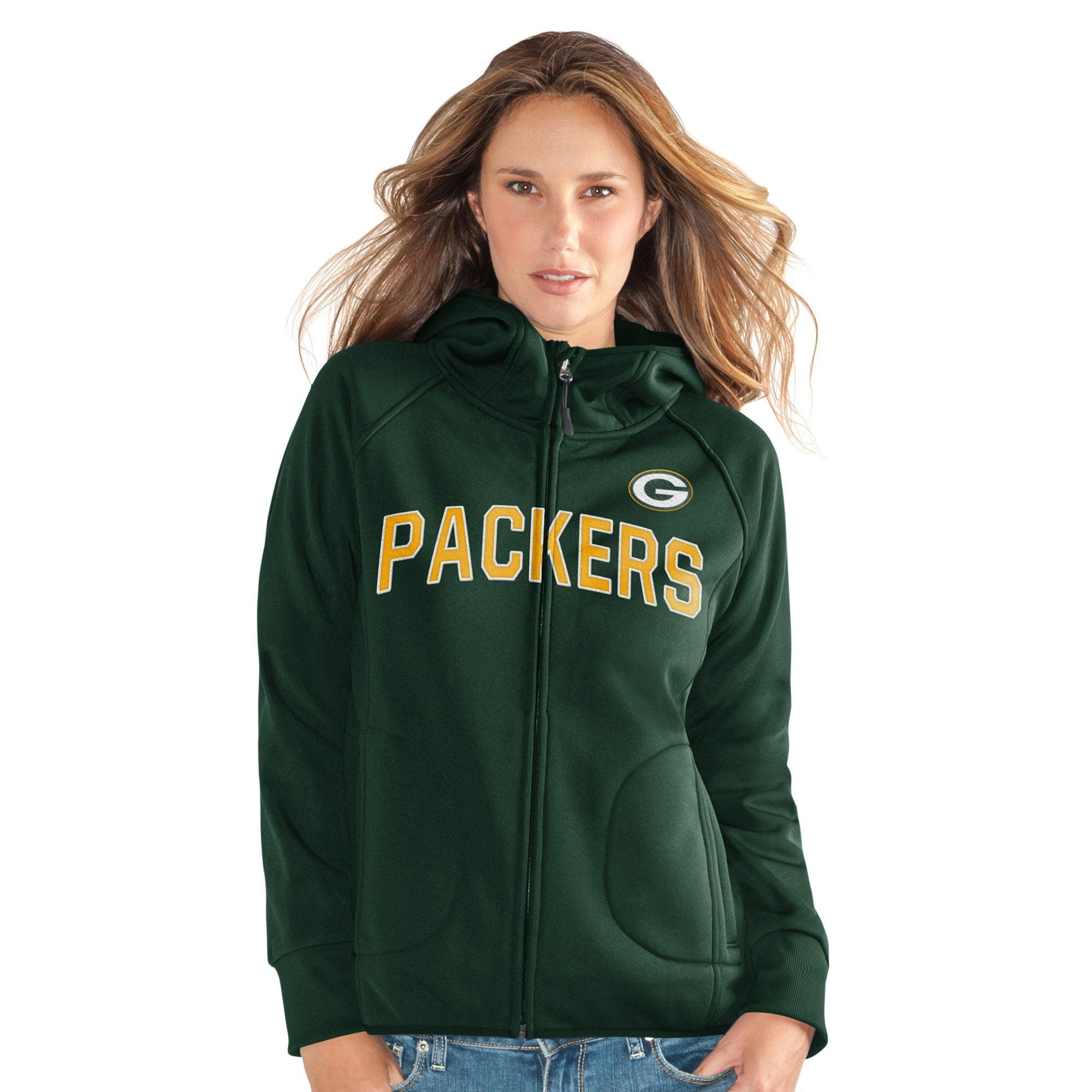 """Green Bay Packers Women's """"Fair Catch"""" Sherpa Jacket by G-III Sports"""