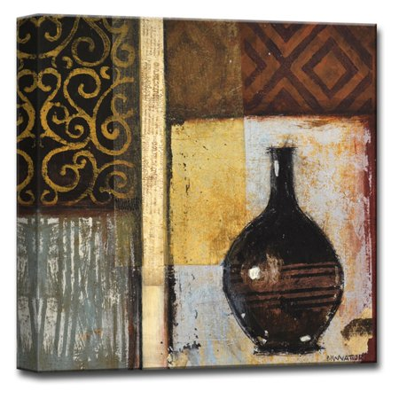 Ready2HangArt Ancient Urn I Canvas Wall Art - Walmart.com
