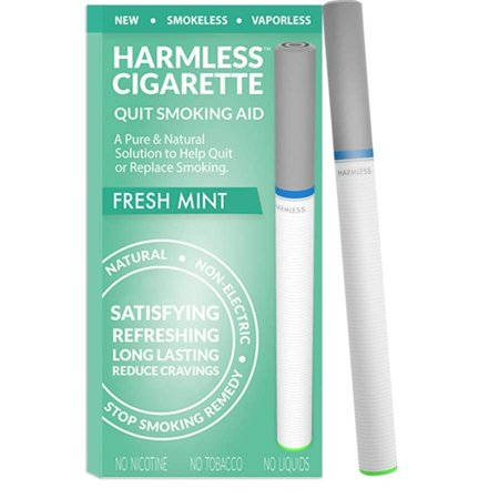 Harmless Cigarette Quit Smoking Aid - Fresh Mint (E Smokes Electronic Cigarette)
