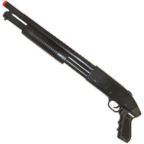 Whetstone Pump Action Airsoft Shotgun, Black