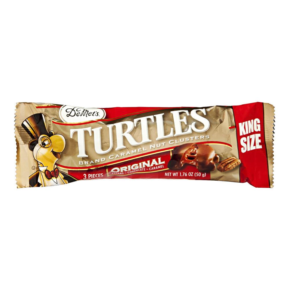 De Met's Turtles Caramel Nut Clusters Original, 1.76 OZ by DeMet's Candy Company